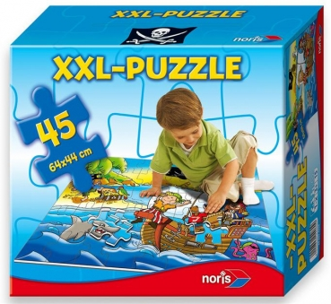 Riesenpuzzle 45 tlg. - Piraten
