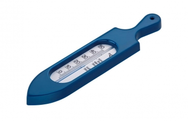 Badethermometer blue perl